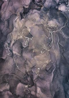 Álcool cores de tinta translúcidas. fundo de textura de mármore multicolorido abstrato. papel de embrulho de design, papel de parede. mistura de tintas acrílicas. arte fluida moderna. padrão de tinta de álcool