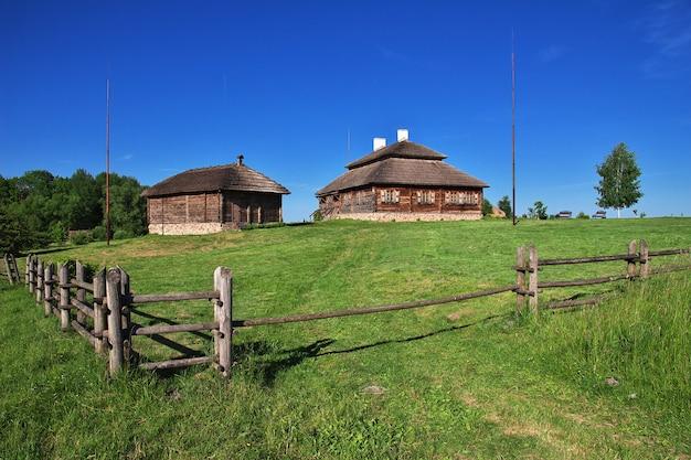 Aldeia de ruzhany no país da bielorrússia