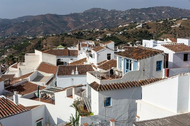 Aldeias brancas espanholas típicas da andaluzia