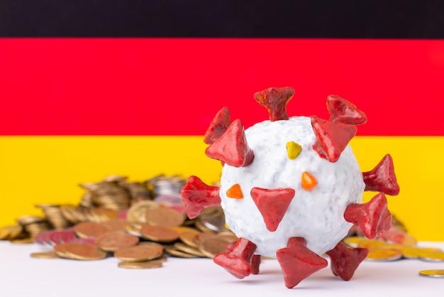 Alemanha durante pandemia de coronavírus, recessão financeira no país devido ao bloqueio