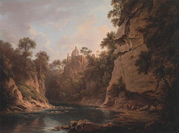 Alexander artística a óleo da lona pintura nasmyth
