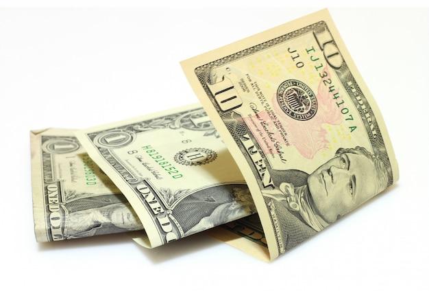 Alguns dólares americanos