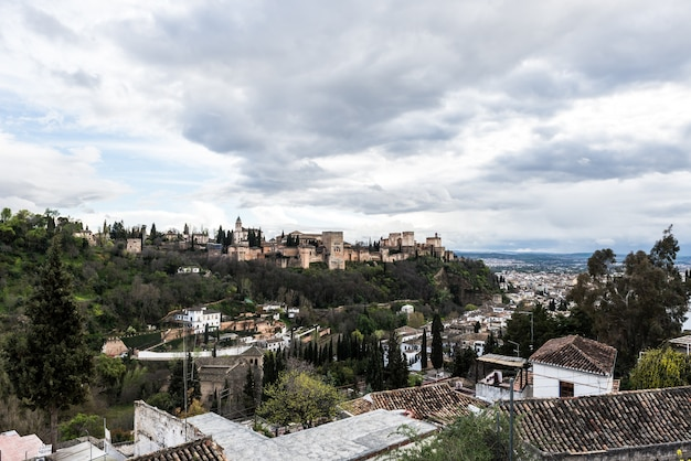 Alhambra granada andaluzia espanha