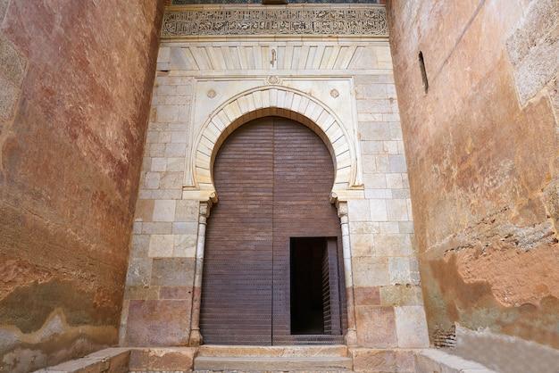 Alhambra puerta de la justicia, em granada