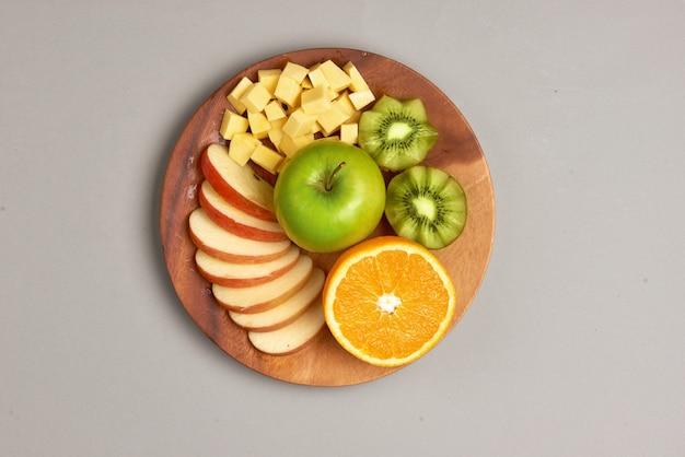 Alimentação saudável, dieta saudável. várias frutas cítricas frescas