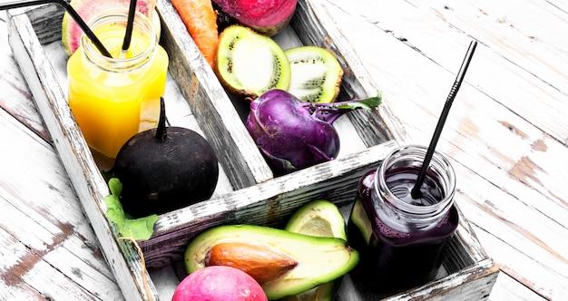 Alimentação saudável e bebidas