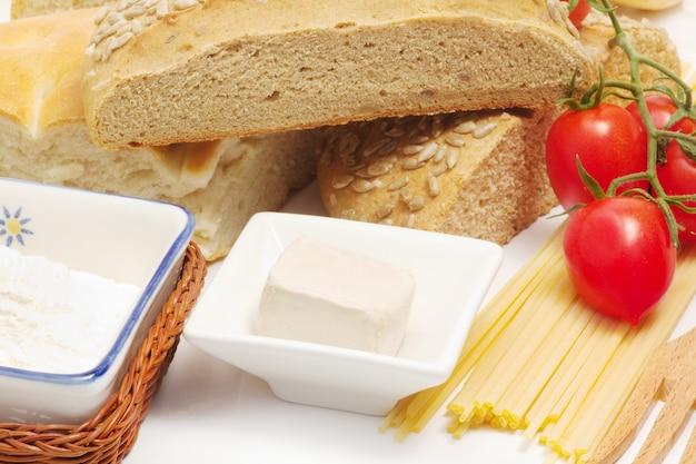 Alimento genuíno italiano