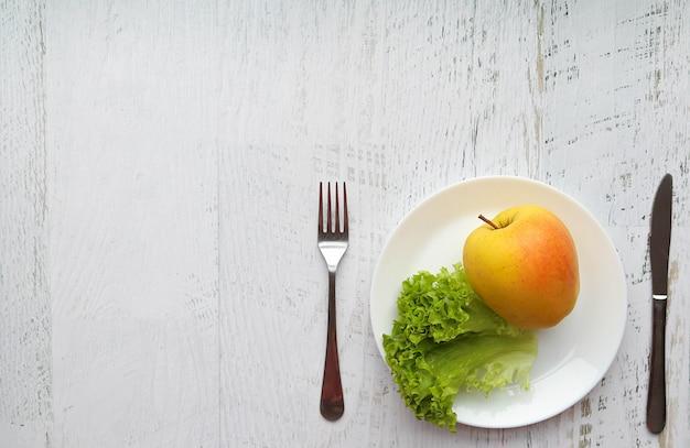 Alimento para perda de peso e estilo de vida saudável