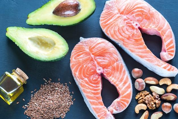 Alimentos com gorduras ômega-3