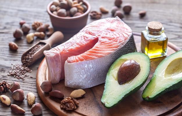 Alimentos com gorduras omega-3