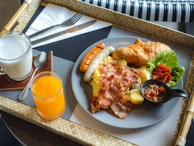 Alimentos e alimentação saudável conceito de estilo de vida