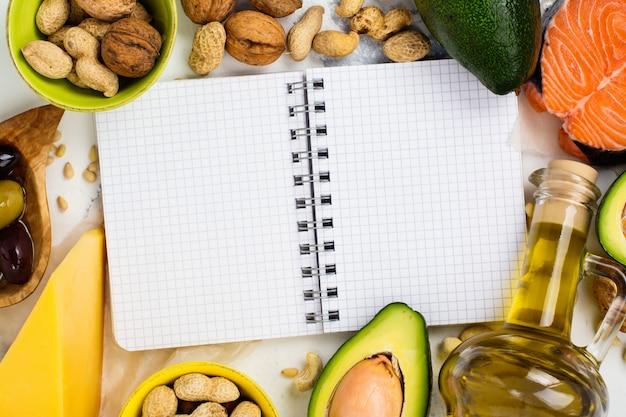 Alimentos gordurosos insaturados