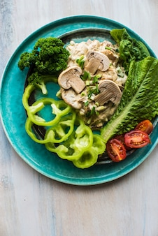 Alimentos orgânicos saudáveis