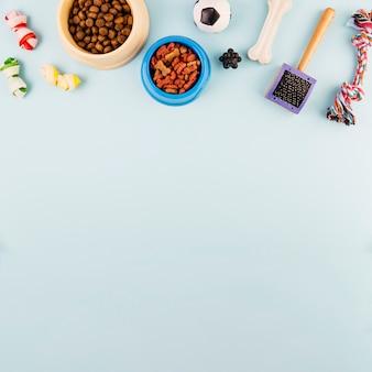 Alimentos para animais e produtos para cuidados