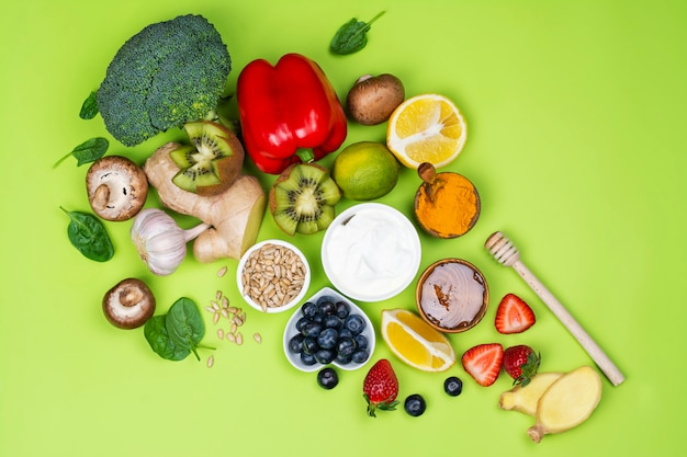 Alimentos para aumentar a imunidade