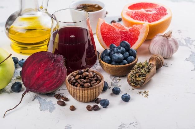 Alimentos para fígado saudável