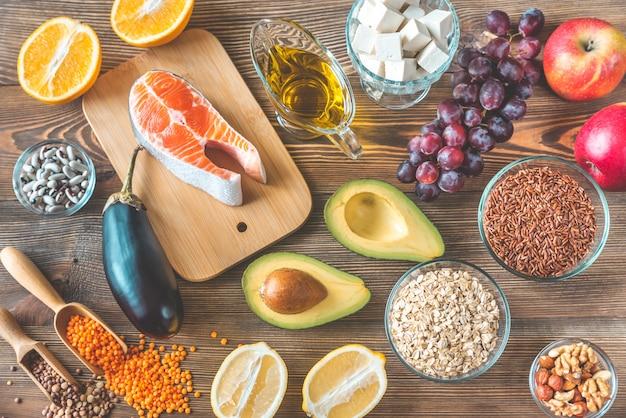 Alimentos que fornecem dieta com baixo colesterol