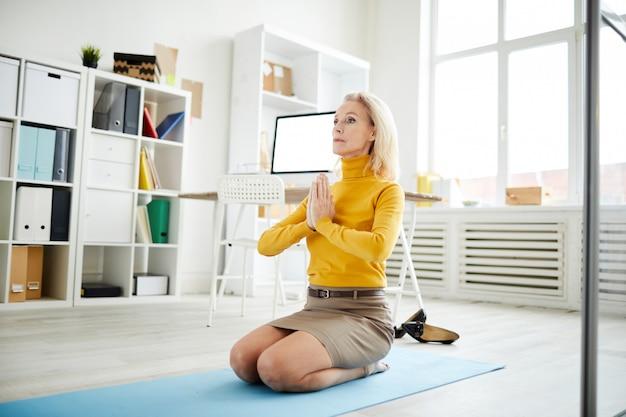 Alívio do estresse no trabalho