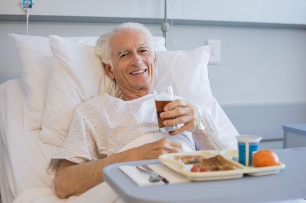 Almoço no hospital
