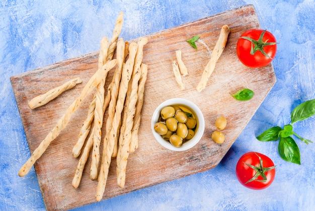 Almoço ou lanche no estilo italiano