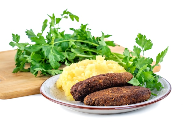Almôndegas com purê de batata e salsa, culinária sueca