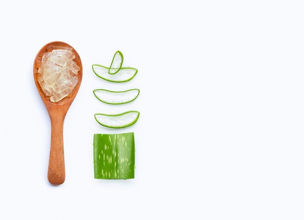 Aloe vera é uma planta medicinal popular para saúde e beleza