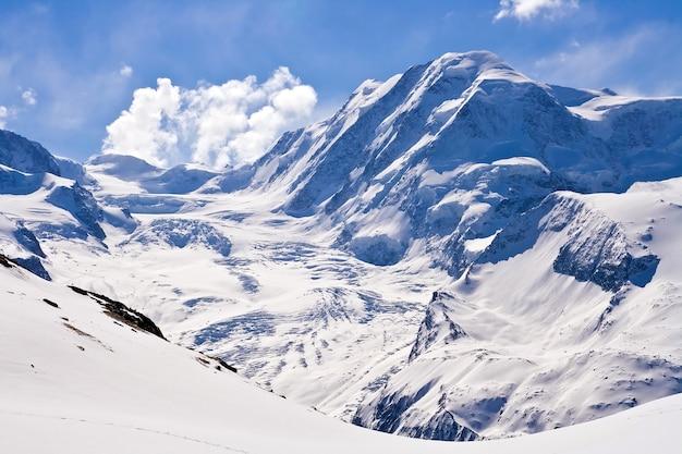 Alp na suíça de gornergrat