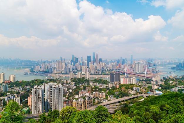 Alta definição cena da cidade céu arquitetura por do sol