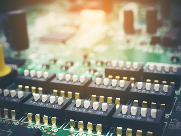 Alta tecnologia eletrônica pcb (placa de circuito impresso) com tecnologia de processador de microchips