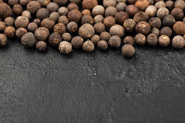 Alto ângulo de sementes de condimentos