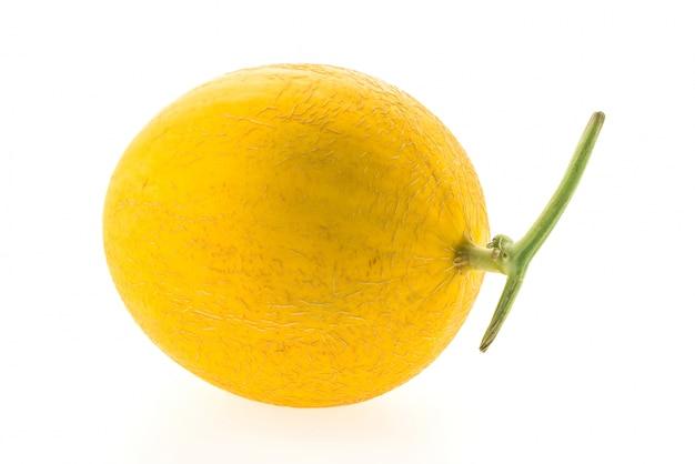 Amarelo, cantaloupe, isolado