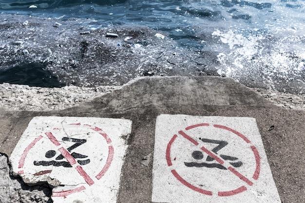 Ambiente ecológico de perigo.