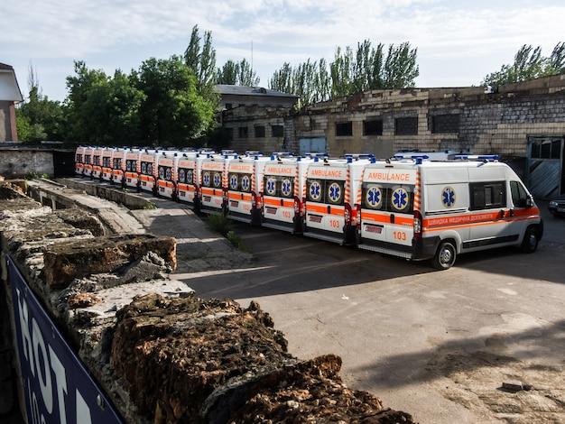 Ambulâncias hospital van
