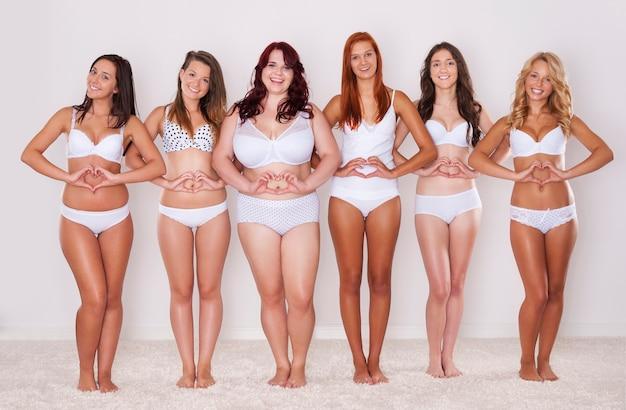 Ame seu corpo porque você é uma pessoa especial para si mesmo