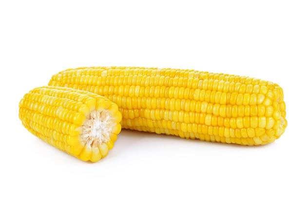 Amêndoas de milho em espiga
