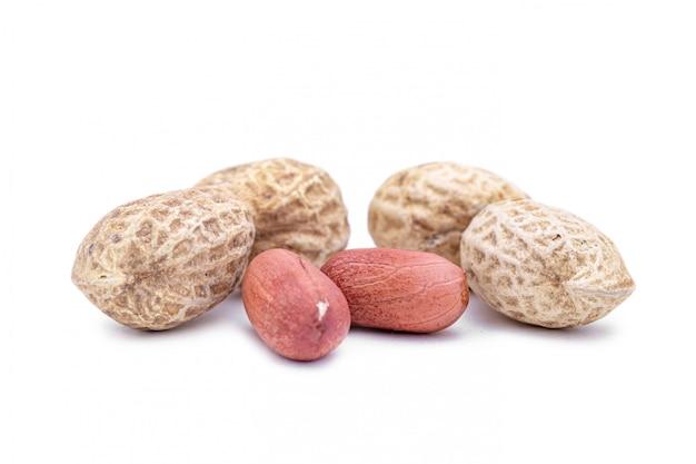 Amendoins torrados sem casca e sem casca
