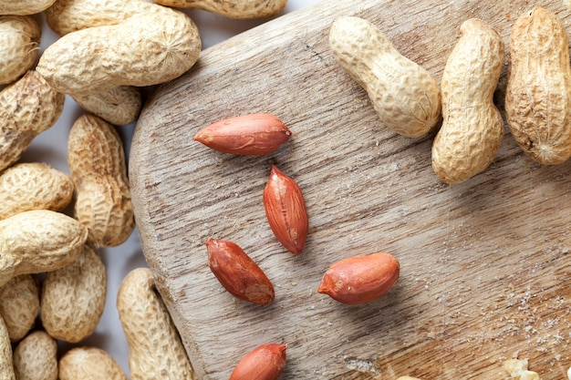 Amendoins torrados