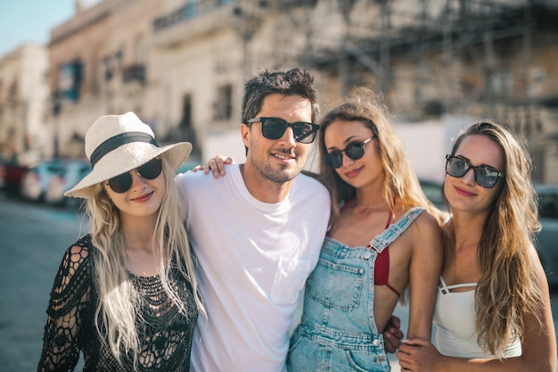 Amigos de férias