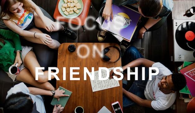 Amizade camarada amigo juntos ícone