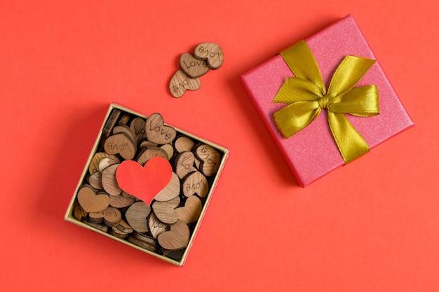 Amor como um presente para alguém que o aprecia.