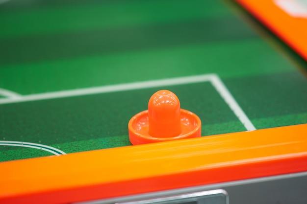 Amortecedor para o jogo do hockey do fluxo de ar na arcada de jogo