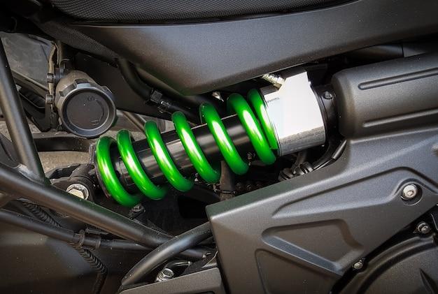 Amortecedores de motocicleta um dispositivo para absorver solavancos e vibrações