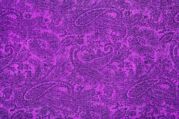 Amostra de pashmina de caxemira com padrão paisley tradicional