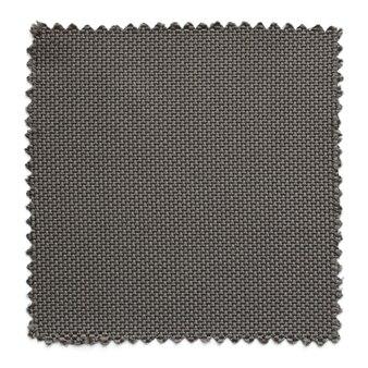 Amostras de amostra de tecido cinza escuro isoladas no fundo branco