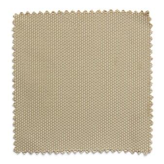 Amostras de amostra de tecido marrom isoladas no fundo branco