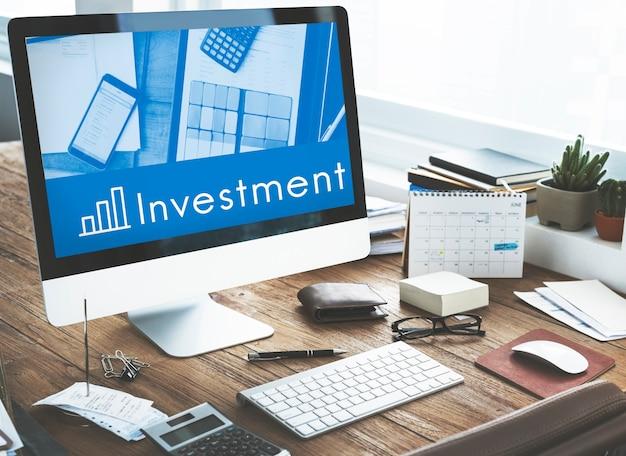 Análise de progresso de desempenho de investimento