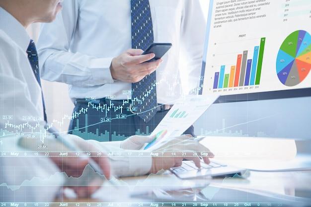 Análise de risco de financiamento e investimento
