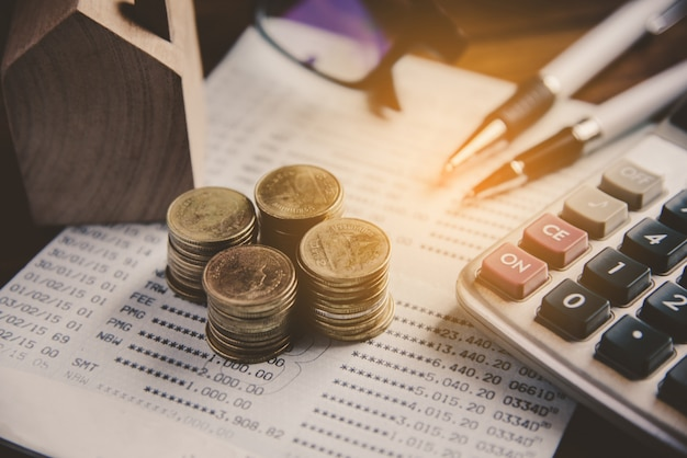 Análise financeira de planejamento financeiro de negócios para crescimento corporativo