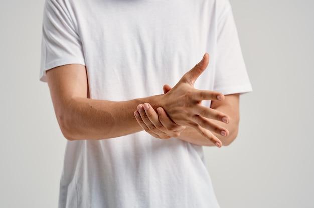 Anatomia de problemas de saúde nas articulações da dor no braço