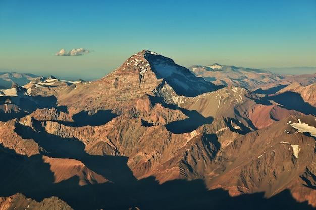 Andes, vista do avião